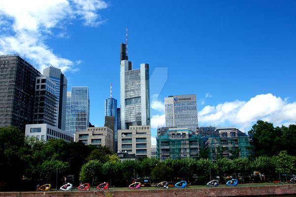 Frankfurt am Main by Yuki-Sasaki