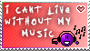 Cant Live Without Music by the-emo-detective