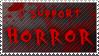 I Support Horror stamp
