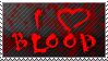 I heart Blood stamp by the-emo-detective
