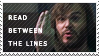 Read Between the Lines stamp by the-emo-detective