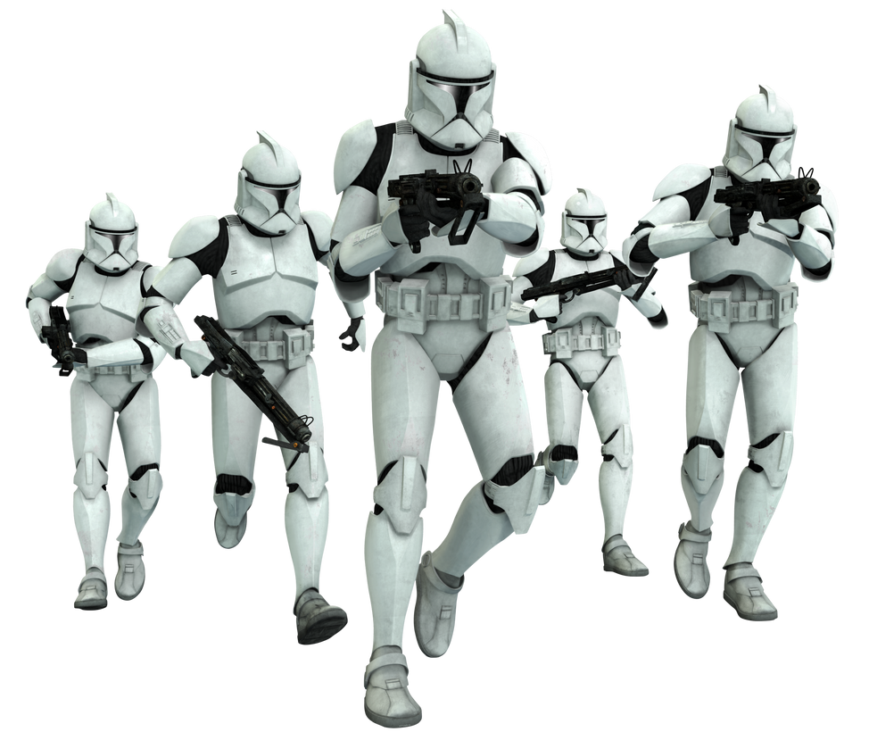Clone trooper squad