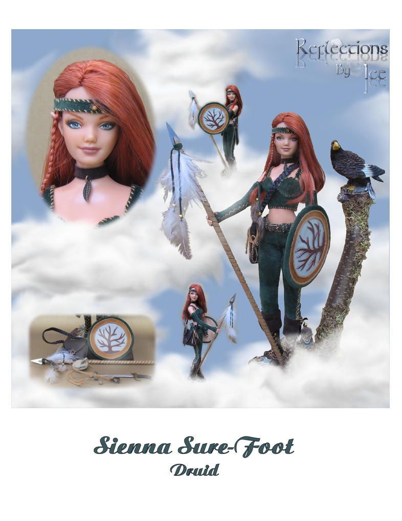 Sienna Sure-foot the Druid by ReflectionsByIce