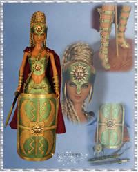 Helia the Gladiatrix