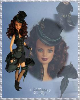 Naomi, a Steampunk Barbie