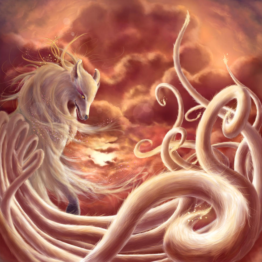 Nine Tailed Fox by RealNam on DeviantArt