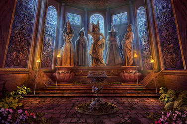 Godmother Room by Namkoart