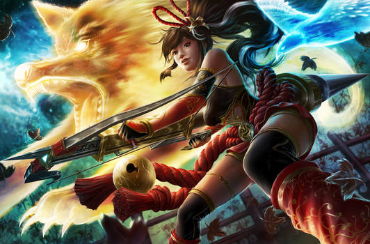 Spirit Huntress