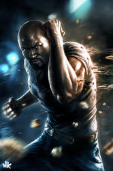 Luke Cage by Namkoart