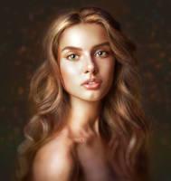 Portrait for Digital Painting Class