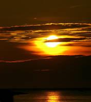 Gotland sunsets by Puggen
