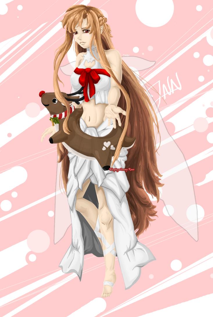 Sword Art Online Asuna Fanart by WeepingAmongRoses