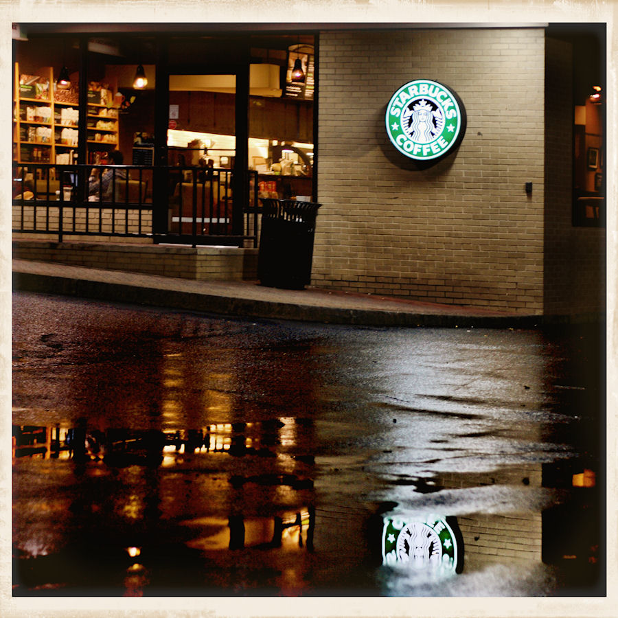 RainyNightsInBristol:Starbucks by Moon-Willow