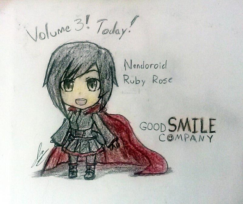 GoodSmile Nendoroid Ruby Rose by MrPop137