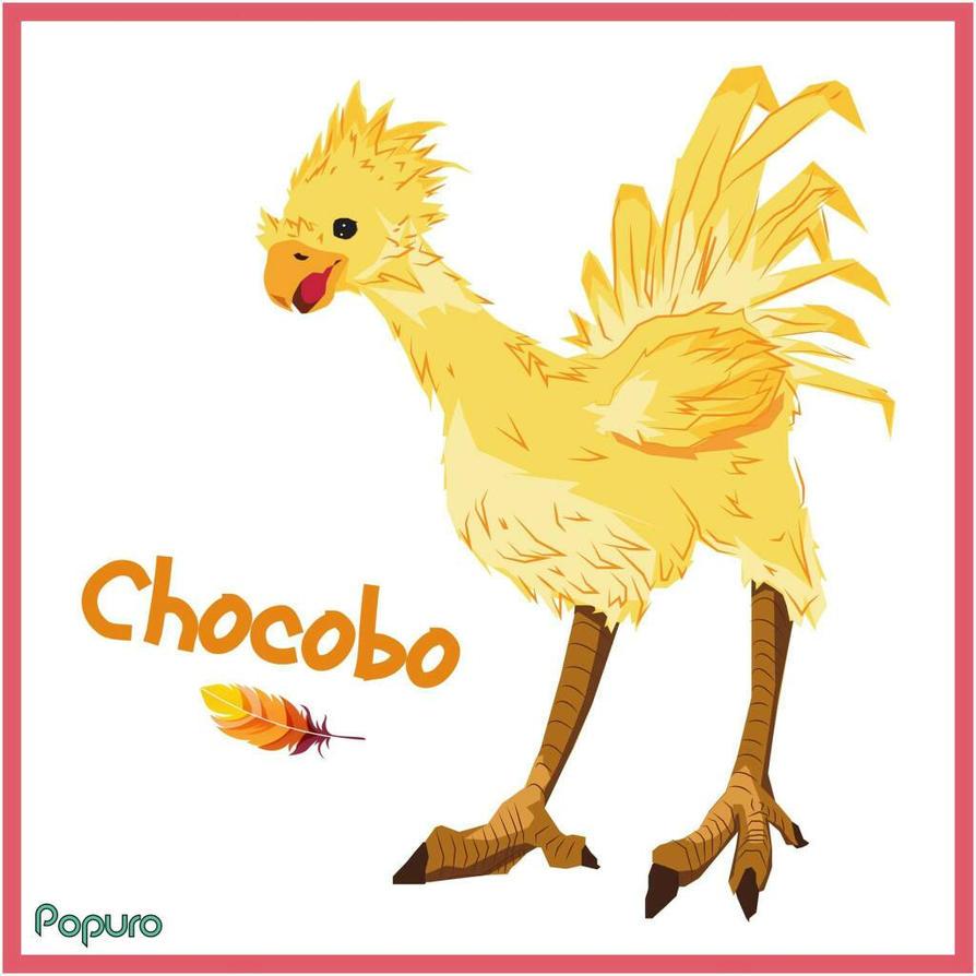 Chocobo FFXV by MrPop137