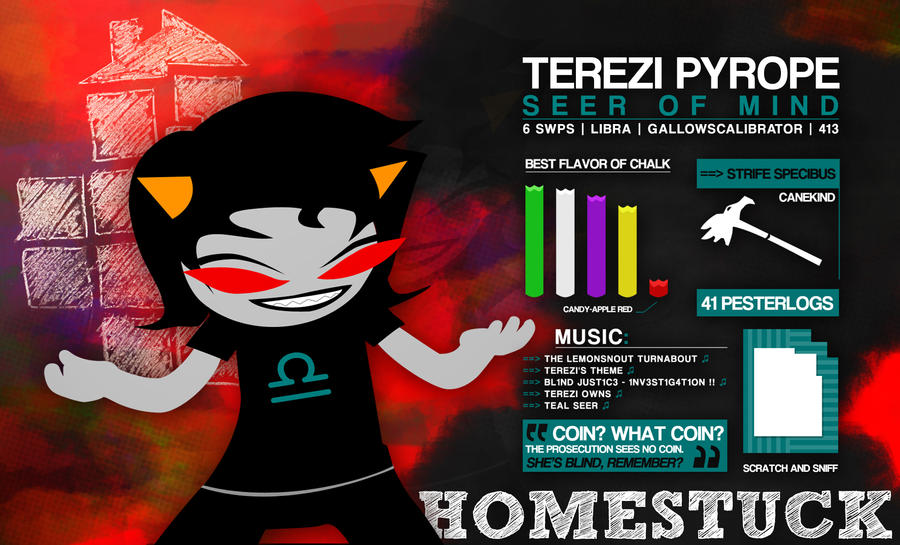 Terezi Pyrope Infographic by SystemicHysteria