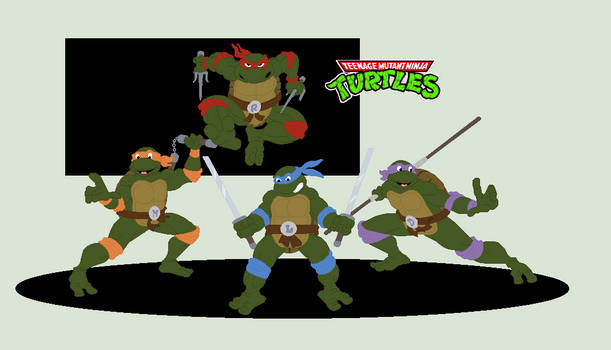 J's  Teenage Mutant Ninja Turtles 80s