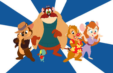 J's Chip N Dale Rescue Rangers by JandMDev
