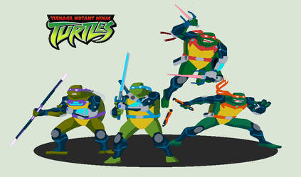 Teenage Mutant Ninja Turtles 2003 Fast Forward. by JandMDev