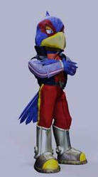 Star Fox adventures Falco by JandMDev
