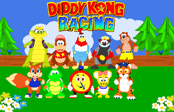 Diddy Kong Racing by JandMDev