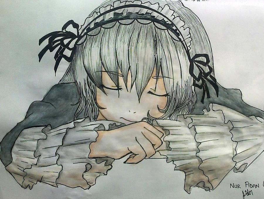 Sleeping by Nurfidan