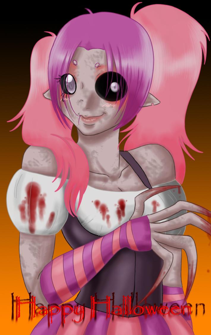 Happy Halloween :3 by MightyMaki