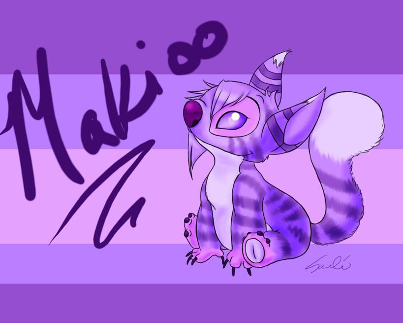 Makioo in Lilo and Stitch by MightyMaki