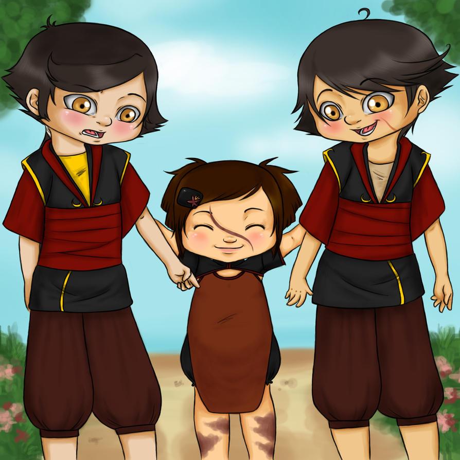 Siblings by MightyMaki