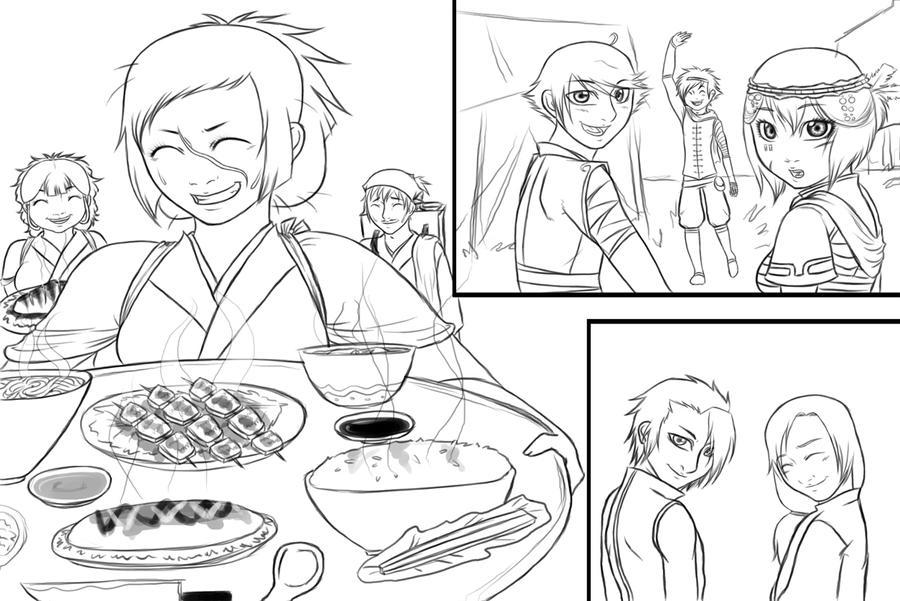 Fukurou 019 FOOD. by MightyMaki