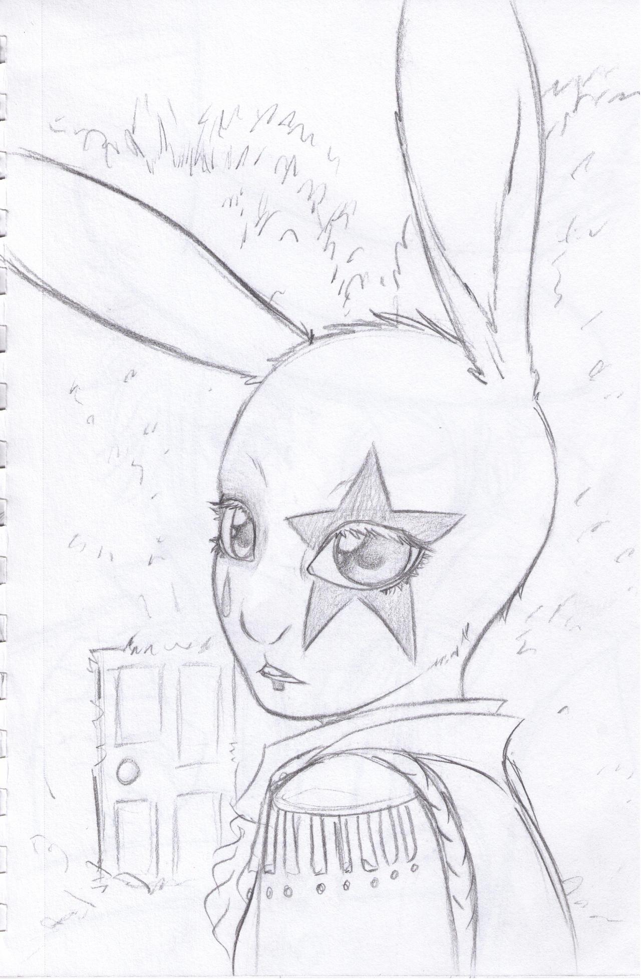 White Rabbit by MightyMaki