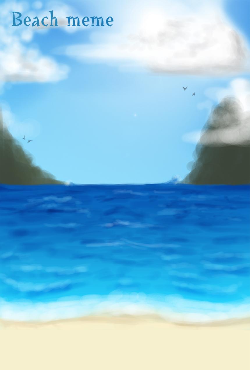 Beach Meme by MightyMaki