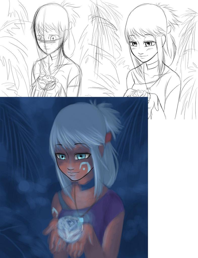 Progression Akilexa by MightyMaki