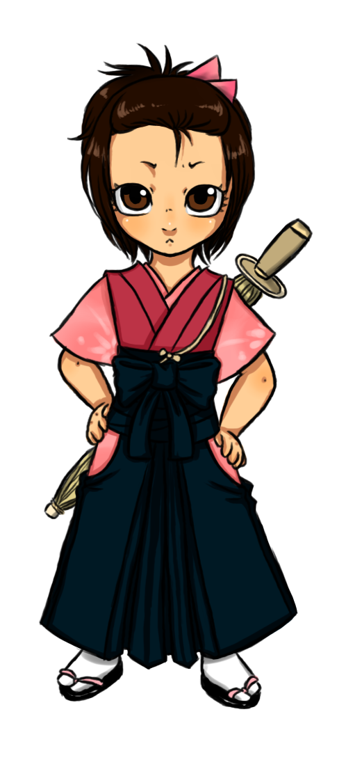 Little Hinako by MightyMaki