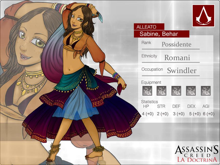 AC-D: Sabine Behar by MightyMaki