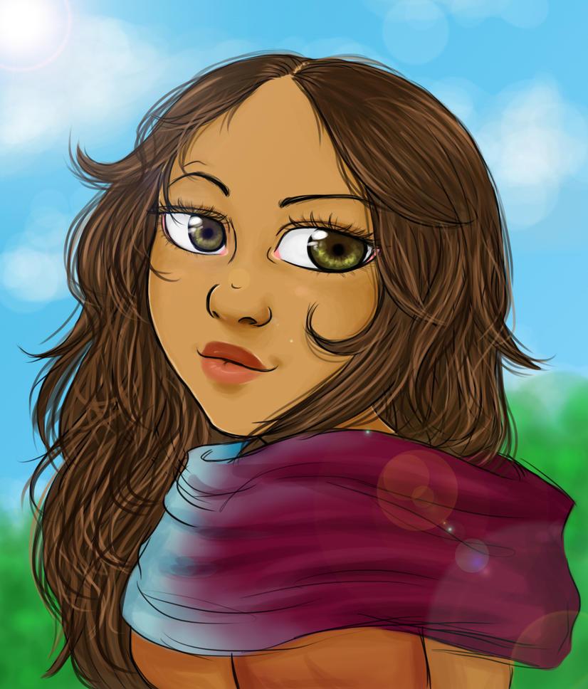 AC-D: Sabine Portrait by MightyMaki