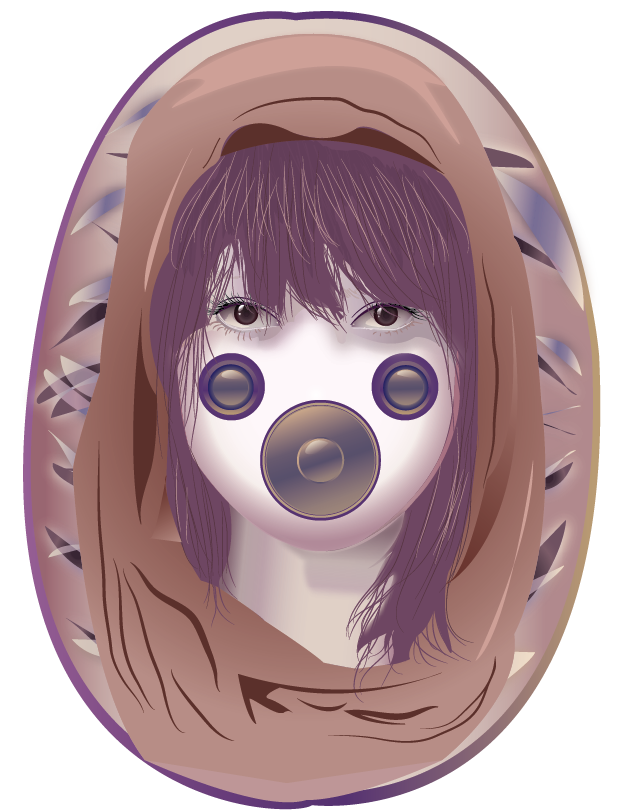 Illustrator Portrait by MightyMaki