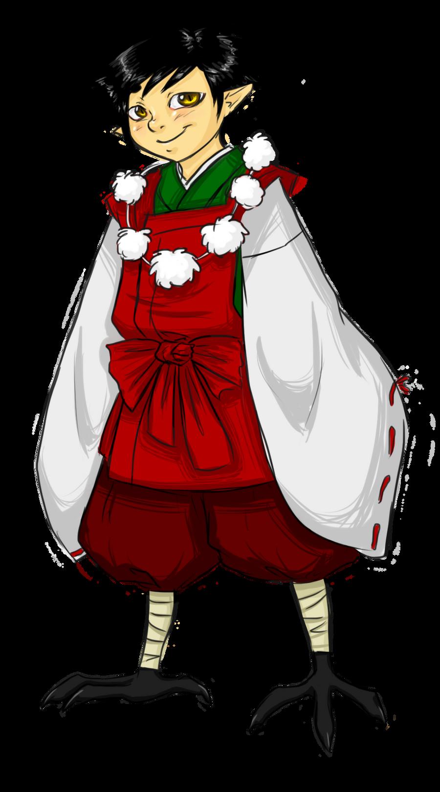 Doodle: Ginko by MightyMaki