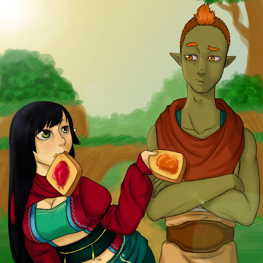 SA: Toast? by MightyMaki