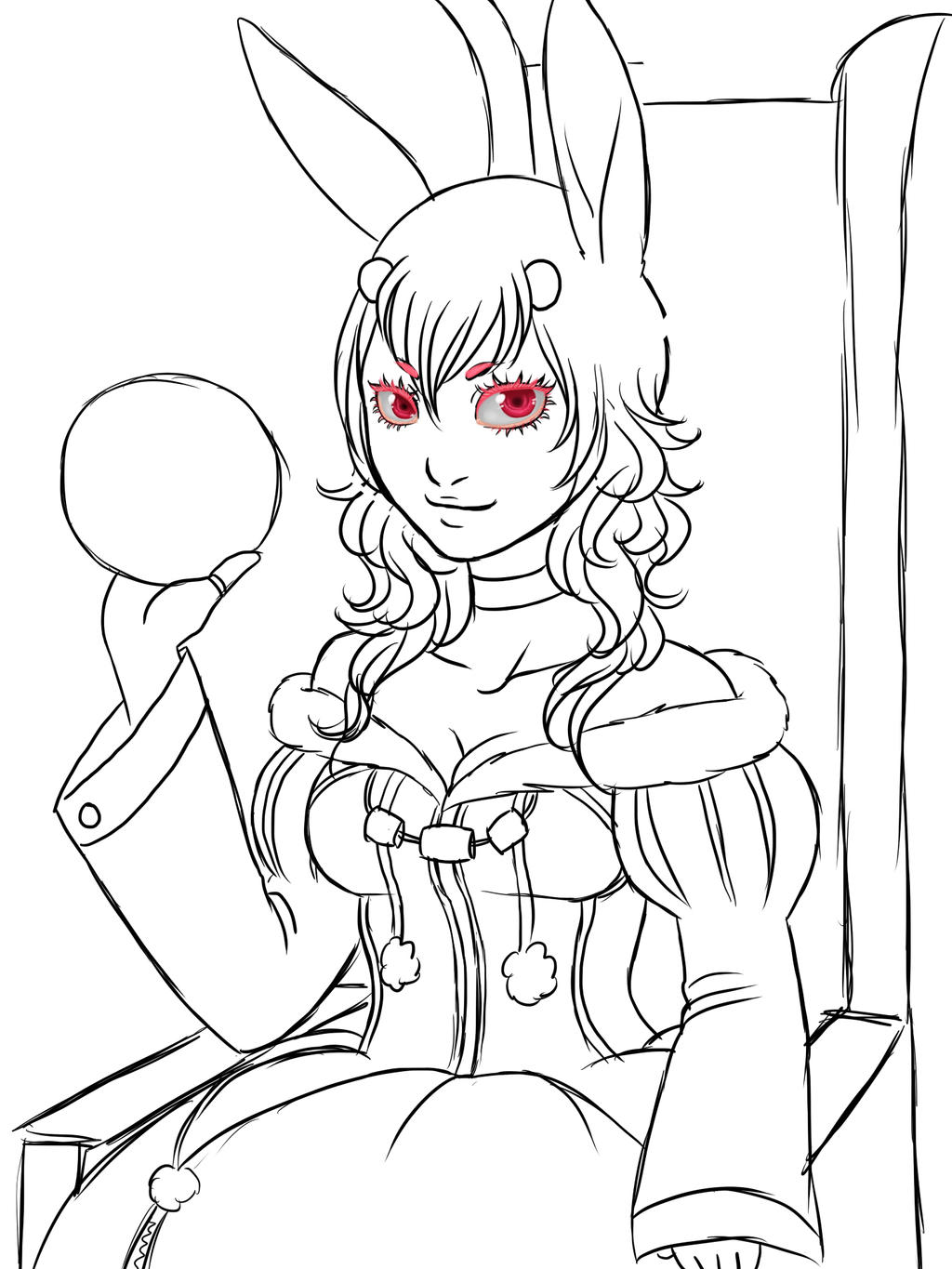 Bombastic Bunny WIP by MightyMaki