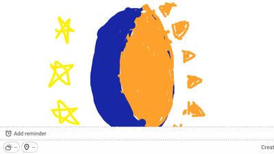 Polaris Solarmoon's cutie mark (with color) by Nardaxll93
