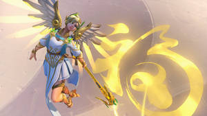 Overwatch - Winged Victory Mercy Wallpaper [5k]