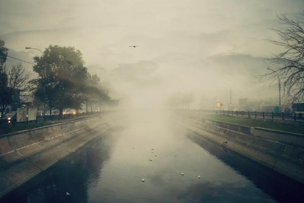 A light through mist II by IoaSan