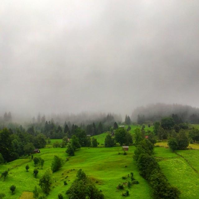 Green hill by IoaSan