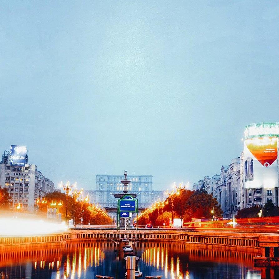 Big city lights II by IoaSan