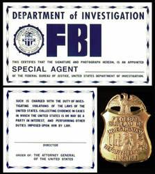 FBI ID by iamgeorge