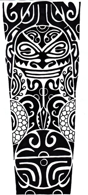 polynesian leg piece design by rorykent1 on deviantart. Black Bedroom Furniture Sets. Home Design Ideas