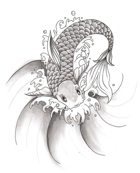 koi fish design by rorykent1 on deviantART