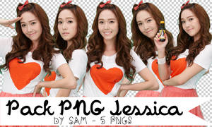 Pack PNG Jessica [5 PNG]