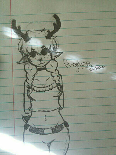 Have a deer girl. by o0Glub0o